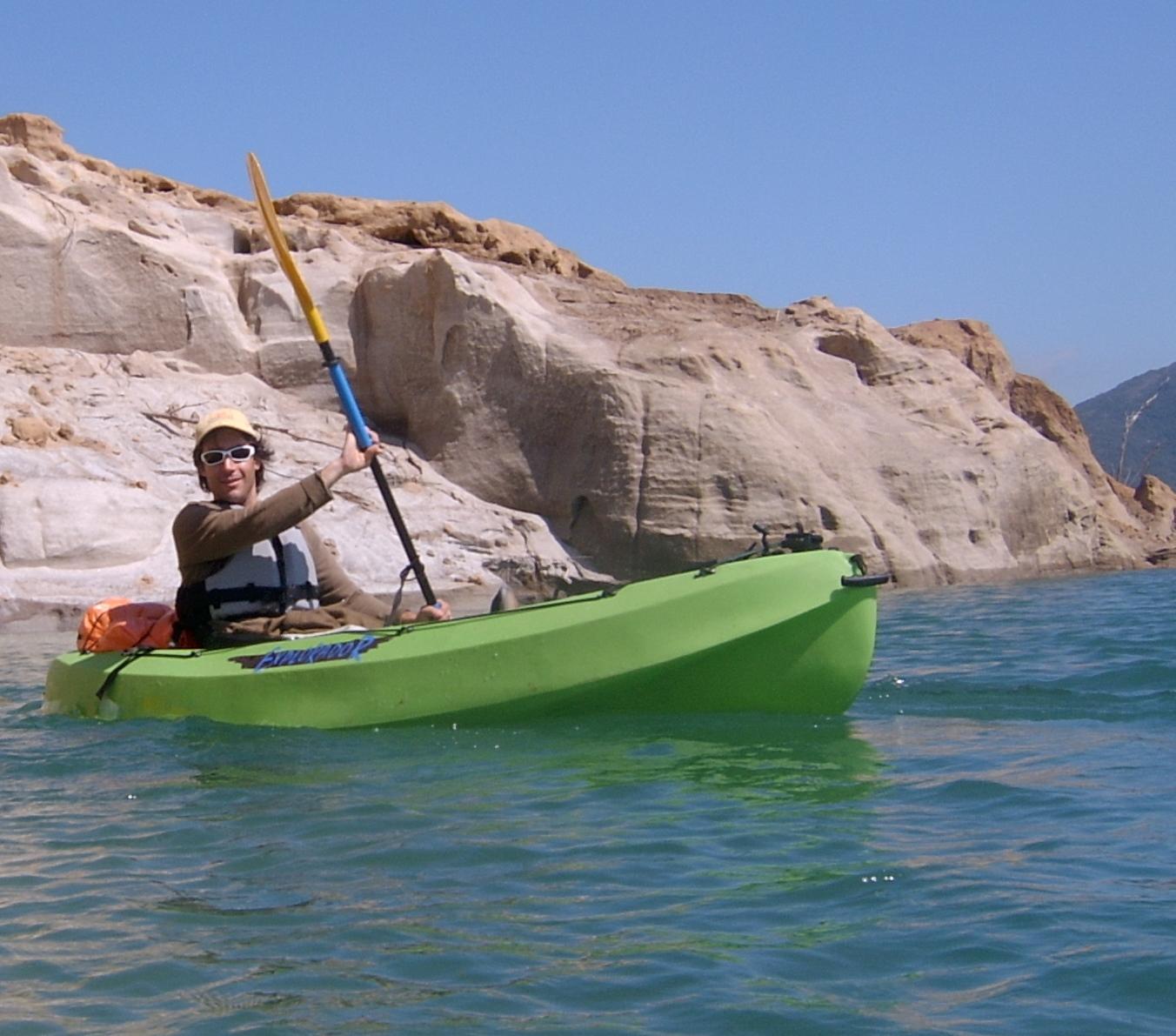 Cristian kayak verde