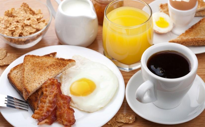Carta - Desayunos